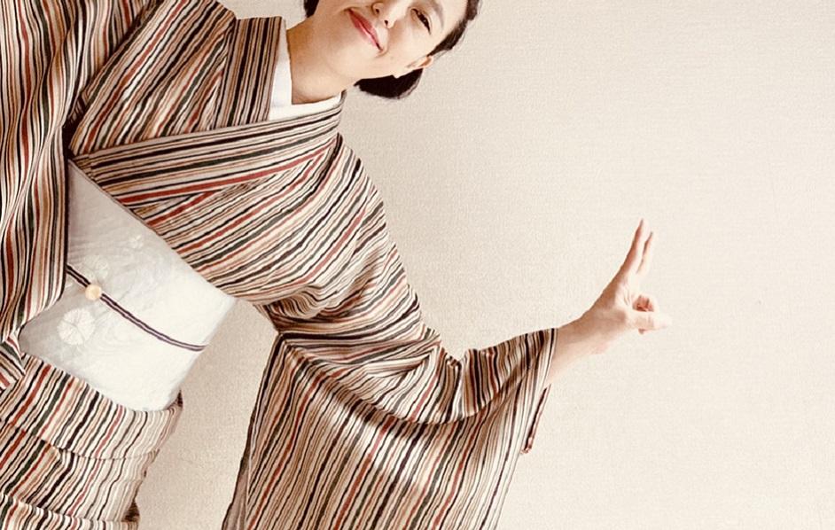 着物と日本酒